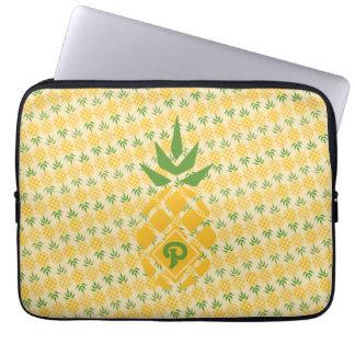 Personalized Pineapple Diagonal Laptop Sleeve