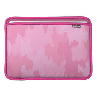 Personalized Pink Camouflage Macbook Sleeve