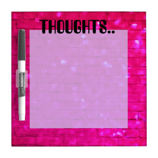 Personalized pink Dry-Erase board