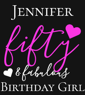 Personalized Pink Fifty Fabulous 50th Birthday T Shirt