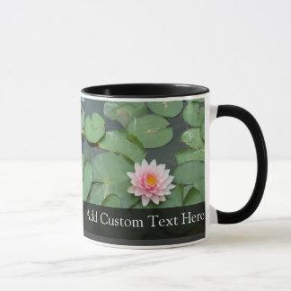 Personalized Pink/Green Lily Pad Mug