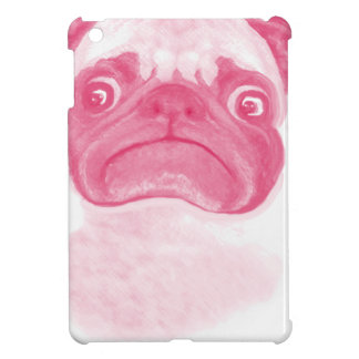 Personalized PINK Grumpy Puggy iPad Mini Case