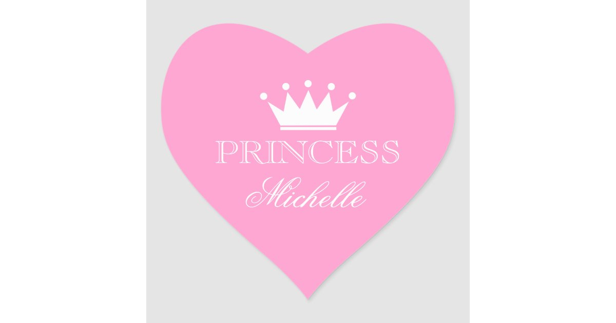personalized pink heart baby shower stickers zazzle