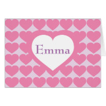 Personalized Pink Heart Brigade