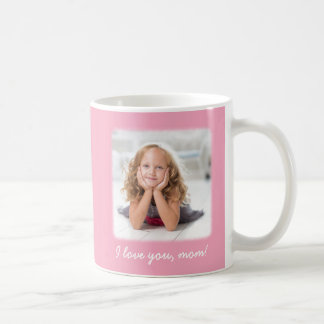 Personalized Pink Mothers Day Mug