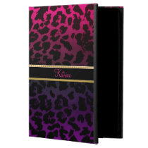 Personalized Pink Purple Leopard iPad Air 2 Case