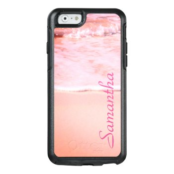 Personalized Pink Sand - Otterbox Iphone 6/6s Case by AnotherGreatEvent at Zazzle