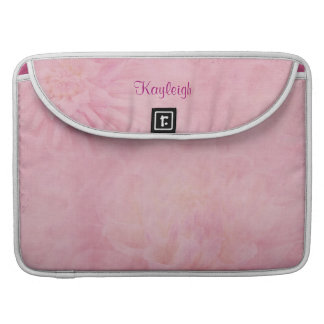 Personalized Pink Sleeve For MacBook Pro