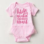 Personalized Pink Tutu Stole My Aunties Heart Shirt