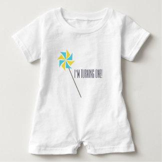 Personalized Pinwheel Apparel Baby Romper
