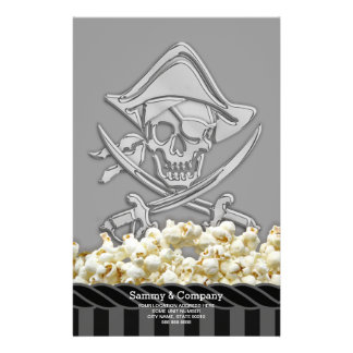 Personalized Pirate Party Stationery