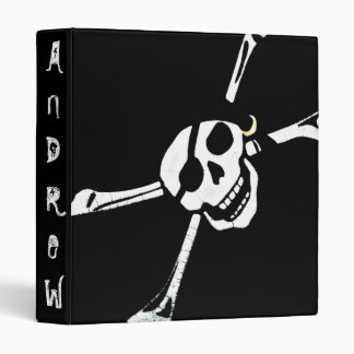 Personalized Pirate Symbol Binder