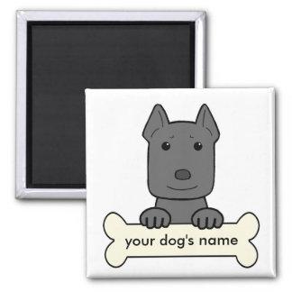 Personalized Pitbull Fridge Magnets