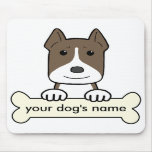 Personalized Pitbull Mouse Pads