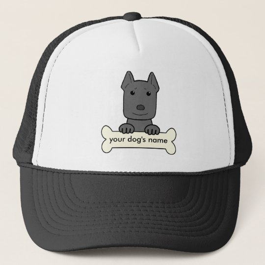 Personalized Pitbull Trucker Hat