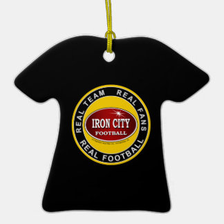 Personalized Pittsburgh Iron City Ornament
