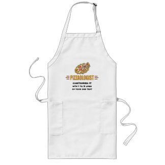 Personalized Pizza Long Apron