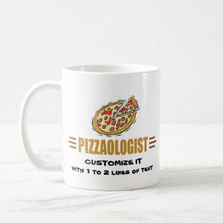 Personalized Pizza Classic White Coffee Mug