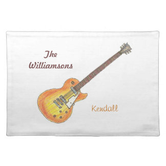 Personalized Placemat - Music Family Cloth Place Mat
