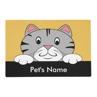 Personalized Placemats For Cats