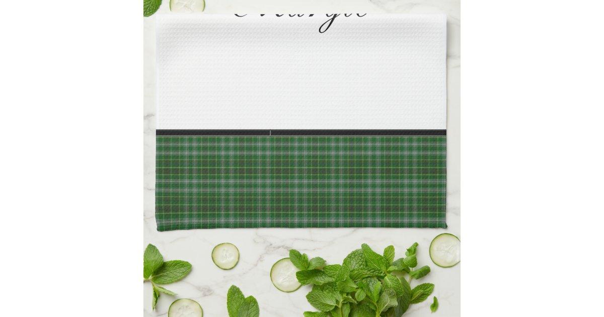 personalized plaid hand towel template zazzle. Black Bedroom Furniture Sets. Home Design Ideas