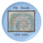 Personalized Plate - 100 Years Quote