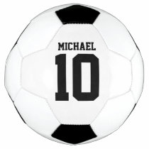 Personalized Player Soccer Ball