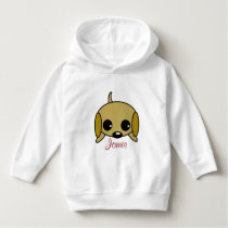 Personalized Playful Puppy Hoodie