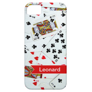 Personalized Playing Cards Games iphone cover iPhone 5 Case