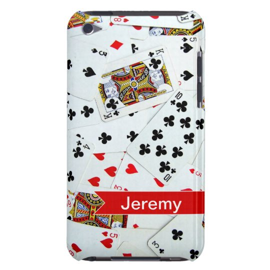 Personalized Playing Cards Games iPod Touch Case