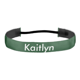 Personalized Pod Green Athletic Headband