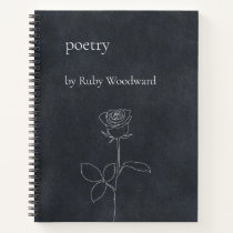 Personalized poetry notebook