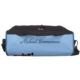 Personalized Poker Champ Laptop Commuter Bag