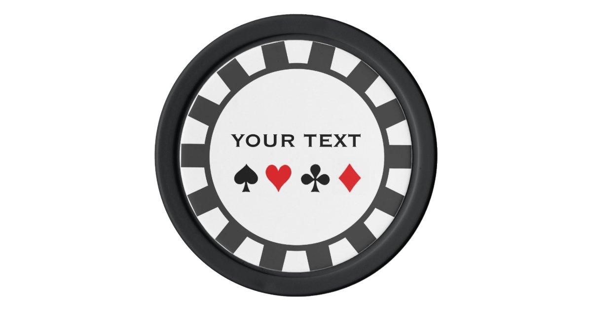 Personalized Poker Chips Zazzle Com