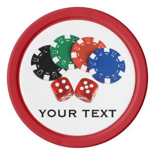 Personalized Poker Chips at Zazzle