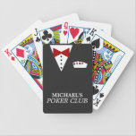 "Personalized Poker Club Bicycle&#174; Playing Cards<br><div class=""desc"">Super fun custom deck of playing cards!</div>"