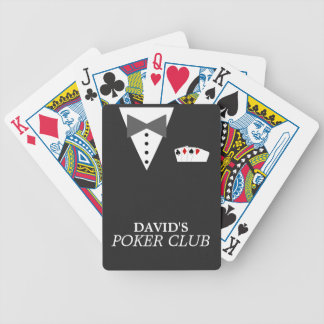 Personalized Poker Club Bicycle® Playing Cards Bicycle Playing Cards