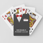 "Personalized Poker Club Playing Cards<br><div class=""desc"">Super fun custom deck of playing cards!</div>"