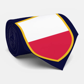 Personalized Poland Flag Tie