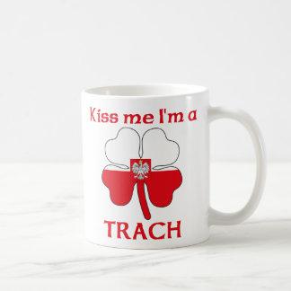 Personalized Polish Kiss Me I'm Trach Classic White Coffee Mug