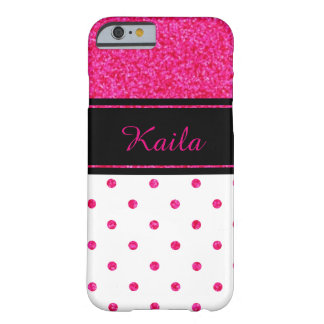Personalized Polka Dot iPhone 6 Case