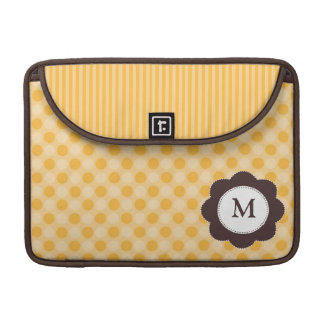 Personalized Polka Dot Sleeve for MacBook Pro