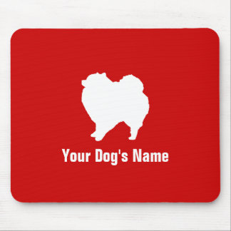 Personalized Pomeranian ポメラニアン Mouse Pad