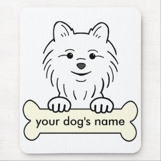 Personalized Pomeranian Mouse Pad
