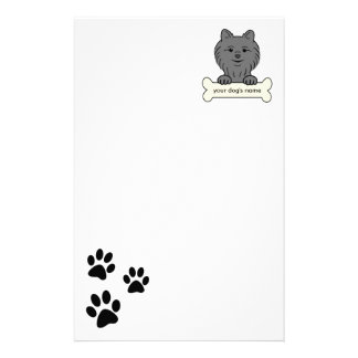 Personalized Pomeranian Stationery