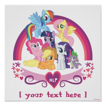 mylittlepony Personalized Ponies Poster