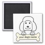 Personalized Poodle Fridge Magnets