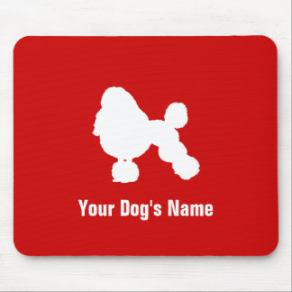 Personalized Poodle (Miniature) ミニチュア・プードル Mouse Pad