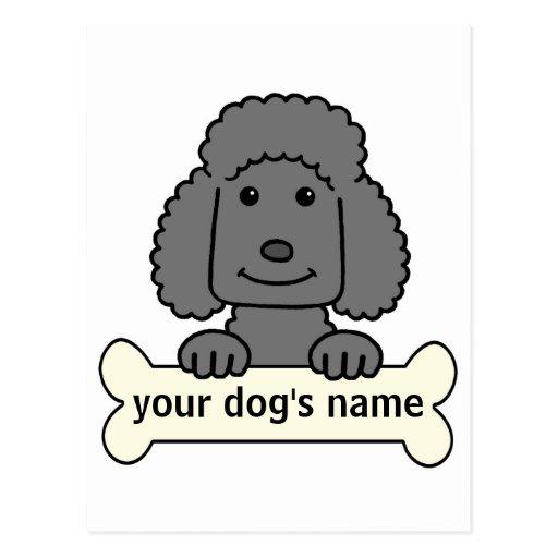 Personalized Poodle Postcard
