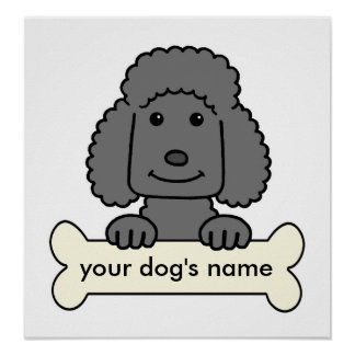 Personalized Poodle Posters